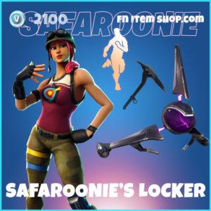 Safaroonie's Locker Fortnite Bundle