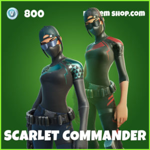 Scarlet Commander Fortnite Skin