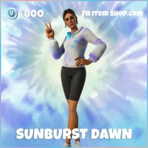 Sunburst Dawn Fortnite Skin