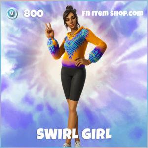 Swirl Girl Fortnite Skin