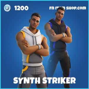 Synth Striker Fortnite Skin