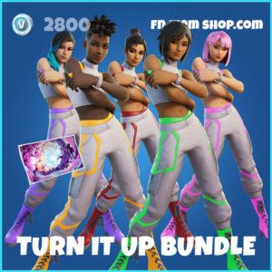 Turn It Up Fortnite Bundle