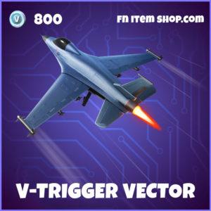 V-Trigger Vector Street Fighter Fortnite Glider