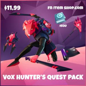 Vox Hunter's Quest Pack Fortnite Bundle