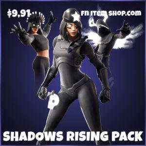 Shadows Rising pack fortnite bundle