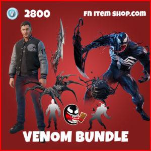 Venom Bundle Eddie Brock Fortnite