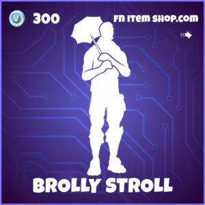 Brolly Stroll Fortnite Resident Evil Emote