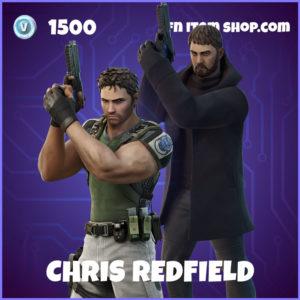 Chris Redfield Fortnite Skin Resident Evil