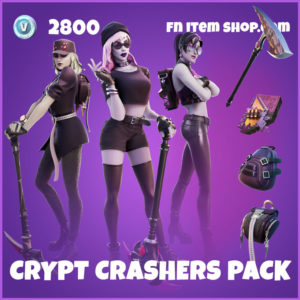 Crypt Crashers Pack Fortnite Bundle