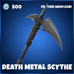 Death Metal Scythe Fornite Harvesting Tool