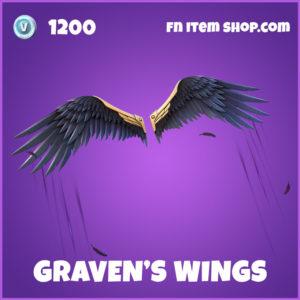 Graven's Wings fortnite glider