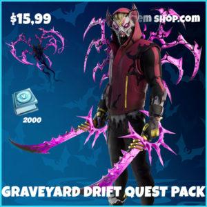 Graveyard Drift Quest Pack Fortnite Bundle