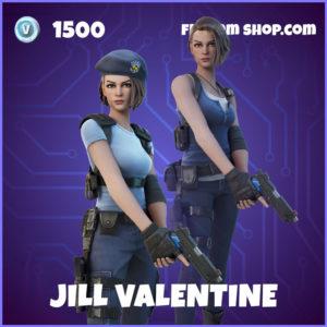 Jill Valentine Fortnite Skin Resident Evil