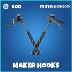 Maker Hooks Fortnite Harvesting Tool