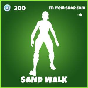 Sand Walk Fortnite Emote