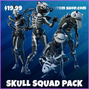 Skull squad pack fortnite bundle
