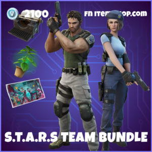 S.T.A.R.S. Team Fortnite Resident Evil Bundle