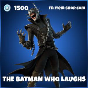 The Batman Who Laughs Fortnite Skin