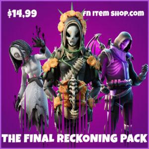 The Final Reckoning Store fortnite bundle